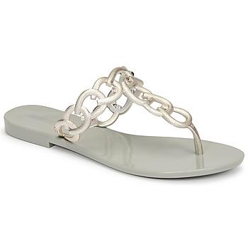 鞋子 女士 人字拖 Melissa 梅丽莎 SUCCESS AD 绿色