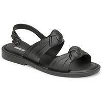 鞋子 女士 凉鞋 Melissa 梅丽莎 VELVET SANDAL AD 黑色