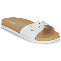 鞋子 女士 休闲凉拖/沙滩鞋 Melissa 梅丽莎 WIDE SLIDE AD 白色