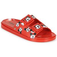 鞋子 女士 休闲凉拖/沙滩鞋 Melissa 梅丽莎 WIDE - MICKEY & FRIENDS AD 红色
