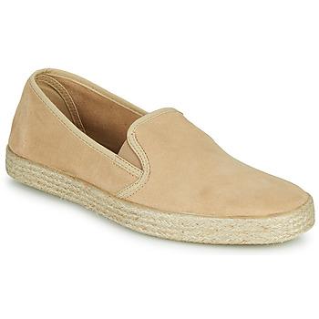 鞋子 男士 皮便鞋 1789 AZUR ESCALE 米色