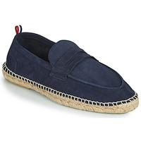 鞋子 男士 帆布便鞋 1789 MARINA LEATHER 蓝色
