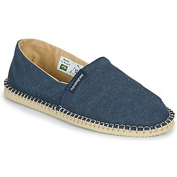 鞋子 帆布便鞋 Havaianas 哈瓦那 ESPADRILLE ECO 蓝色