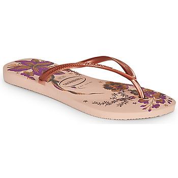 鞋子 女士 人字拖 Havaianas 哈瓦那 SLIM ORGANIC 玫瑰色