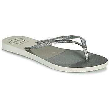 鞋子 女士 人字拖 Havaianas 哈瓦那 SLIM PALETTE GLOW 白色