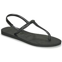 鞋子 女士 凉鞋 Havaianas 哈瓦那 TWIST 黑色