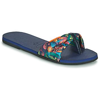 鞋子 女士 人字拖 Havaianas 哈瓦那 YOU SAINT TROPEZ 蓝色