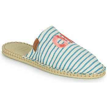 鞋子 女士 帆布便鞋 Havaianas 哈瓦那 ESPADRILLE MULE FUN ECO 蓝色