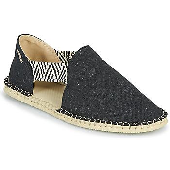 鞋子 女士 帆布便鞋 Havaianas 哈瓦那 ESPADRILLE FRESH ECO 黑色