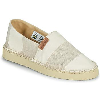 鞋子 女士 帆布便鞋 Havaianas 哈瓦那 ESPADRILLE CLASSIC FLATFORM ECO 米色