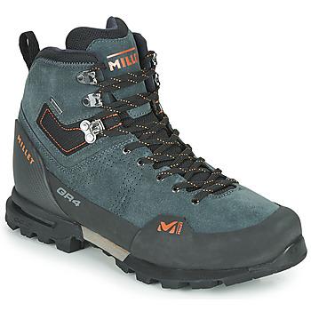 鞋子 男士 登山 Millet GR4 GORETEX 灰色 / 橙色