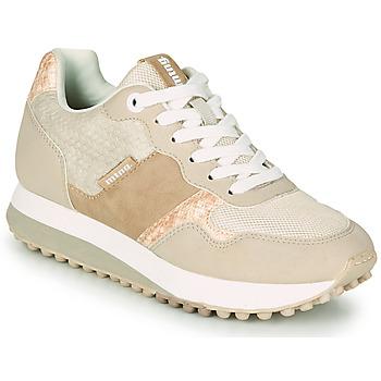 鞋子 女士 球鞋基本款 MTNG 60033 米色