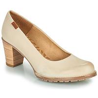鞋子 女士 高跟鞋 MTNG 51078 米色