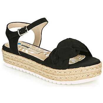 鞋子 女士 凉鞋 MTNG 50687 黑色