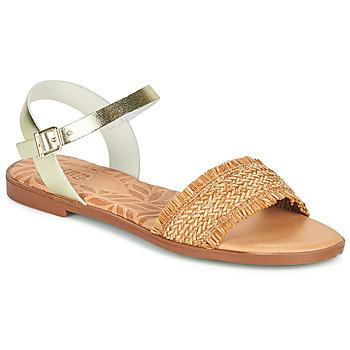 鞋子 女士 凉鞋 MTNG 51010 棕色