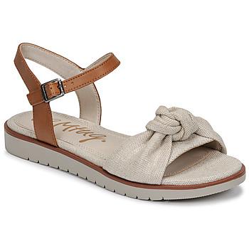 鞋子 女士 凉鞋 MTNG 50506 米色