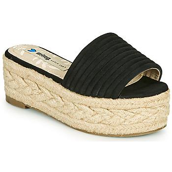 鞋子 女士 休闲凉拖/沙滩鞋 MTNG 51118 黑色