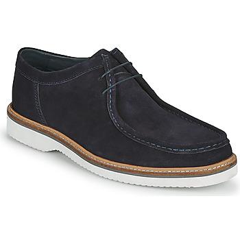 鞋子 男士 德比 Base London BARNUM 蓝色
