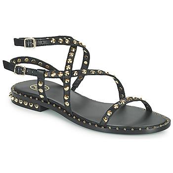 鞋子 女士 凉鞋 Ash 艾熙 PETRA 黑色