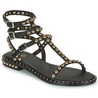 鞋子 女士 凉鞋 Ash 艾熙 PLAY 黑色