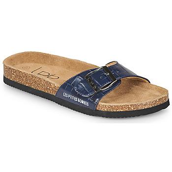 鞋子 女士 休闲凉拖/沙滩鞋 Les P'tites Bombes ROSA 蓝色
