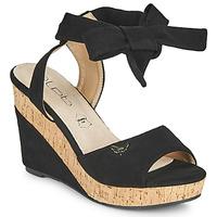 鞋子 女士 凉鞋 Les P'tites Bombes BELA 黑色