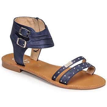 鞋子 女士 凉鞋 Les P'tites Bombes BELIZE 蓝色