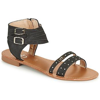 鞋子 女士 凉鞋 Les P'tites Bombes BELIZE 黑色