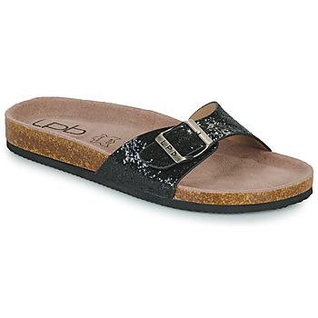 鞋子 女士 休闲凉拖/沙滩鞋 Les P'tites Bombes ROSA 黑色