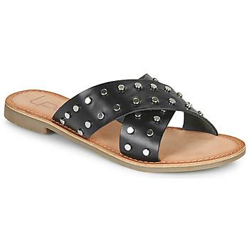 鞋子 女士 休闲凉拖/沙滩鞋 Les P'tites Bombes BELMA 黑色