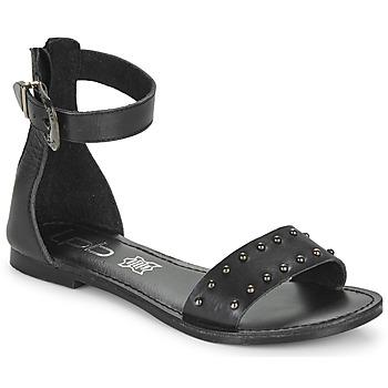 鞋子 女士 凉鞋 Les P'tites Bombes BRANKA 黑色