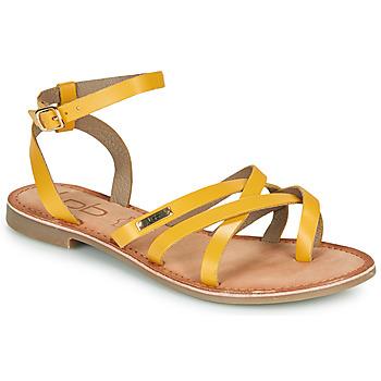 鞋子 女士 凉鞋 Les P'tites Bombes BERYLE 黄色