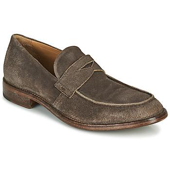 鞋子 男士 皮便鞋 Moma NOTTINGHAM 棕色