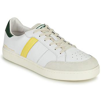 鞋子 男士 球鞋基本款 Serafini WIMBLEDON 白色 / 绿色 / 黄色