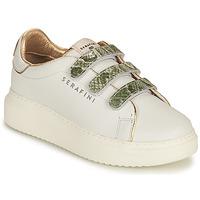 鞋子 女士 球鞋基本款 Serafini CONNORS 白色 / 金色 / 绿色