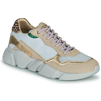 鞋子 女士 球鞋基本款 Serafini OREGON 白色 / 金色