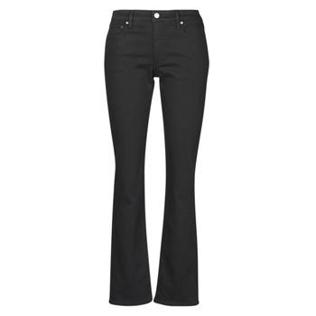 衣服 女士 直筒牛仔裤 Lauren Ralph Lauren MIDRISE STRT-5-POCKET-DENIM 黑色