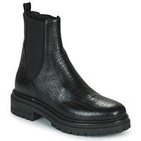 鞋子 女士 短筒靴 Minelli LAMINA 黑色