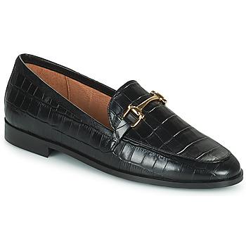 鞋子 女士 皮便鞋 Minelli AMINATA 黑色