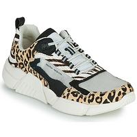 鞋子 女士 球鞋基本款 Skechers 斯凯奇 BLOCK - WEST 米色