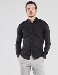 衣服 男士 长袖衬衫 B.O.T.D OMAN 黑色