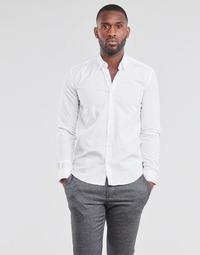 衣服 男士 长袖衬衫 B.O.T.D OMAN 白色