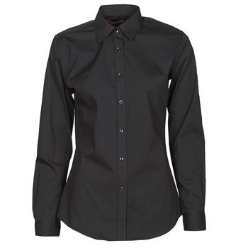衣服 女士 衬衣/长袖衬衫 B.O.T.D OWOMAN 黑色