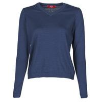 衣服 女士 羊毛衫 B.O.T.D OWOXOL 海蓝色