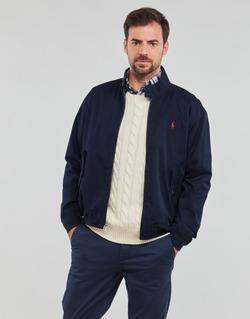 衣服 男士 夹克 Polo Ralph Lauren BLOUSON BARACUDA COTON DOUBLE LOGO PONY PLAYER 蓝色