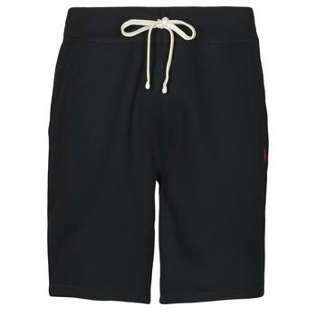 衣服 男士 短裤&百慕大短裤 Polo Ralph Lauren SHORT MOLTONE EN COTON LOGO PONY PLAYER 黑色