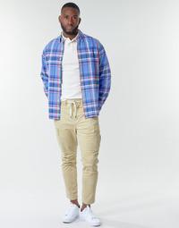 衣服 男士 工装裤 Polo Ralph Lauren SHORT PREPSTER AJUSTABLE ELASTIQUE AVEC CORDON INTERIEUR LOGO PO 米色