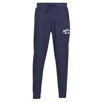 衣服 男士 厚裤子 Polo Ralph Lauren BAS DE JOGGING EN MOLTON POLO RALPH LAUREN SIGNATURE 海蓝色