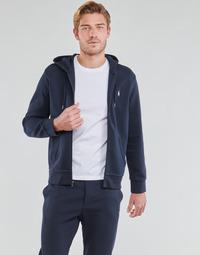 衣服 男士 卫衣 Polo Ralph Lauren SWEATSHIRT A CAPUCHE ZIPPE EN JOGGING DOUBLE KNIT TECH LOGO PONY 海蓝色
