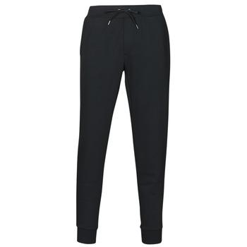 衣服 男士 厚裤子 Polo Ralph Lauren PANTALON DE JOGGING EN DOUBLE KNIT TECH LOGO PONY PLAYER 黑色